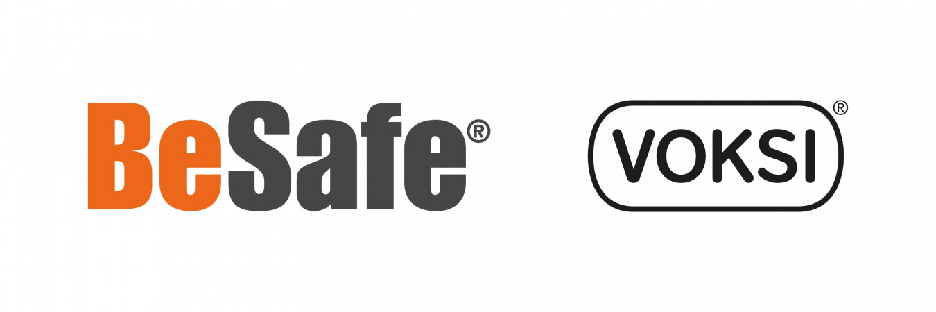 Logo BeSafe & Voksi