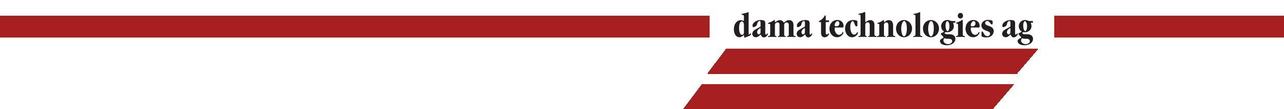 Logo dama technologies AG