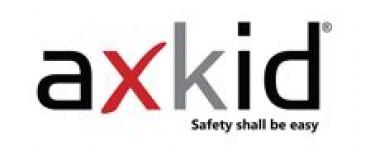 Logo AXKID presented by BDKH