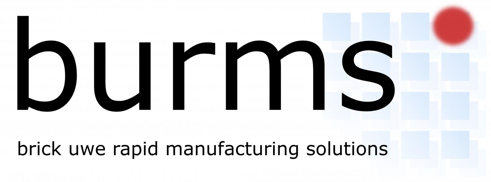 Logo BURMS - 3D Druck Jena GmbH & Co. KG